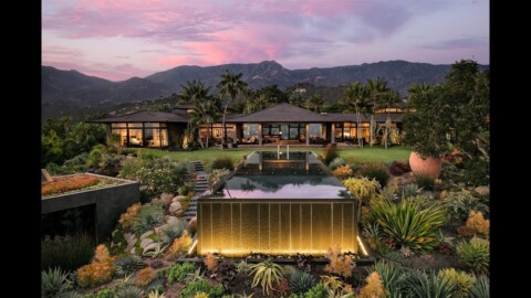 Contemporary Balinese-Style Estate in Montecito, California – Sotheby's International Realty