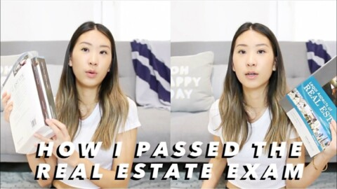 HOW TO PASS THE CA REAL ESTATE EXAM // my study plan + what to expect