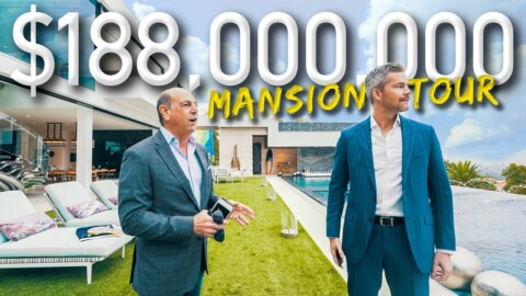 Touring A Massive $188 Million California Mega Mansion | Ryan Serhant Vlog #038