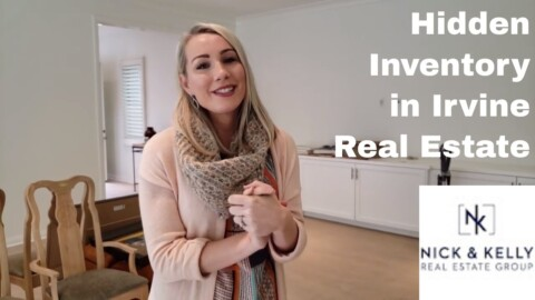 Kelly Talks about Hidden Inventory in Irvine Real Estate, California