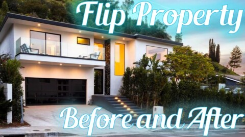 $3,500,000 HOLLYWOOD HILLS House Flip Before and After