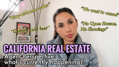 California Real Estate: Agent Perspective on What's Happening