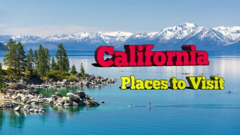 7 Best Places to Visit in California. A Travel Video