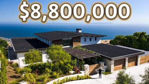 Inside a $8,800,000 California Modern Home with Incredible Ocean Views