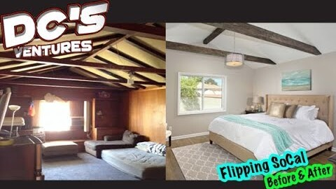 Flipping Real Estate in California Before and After