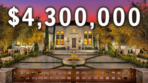 What $4,300,000 gets you in CALIFORNIA | LUXURY Mansion Tour | California Luxury Home Tour