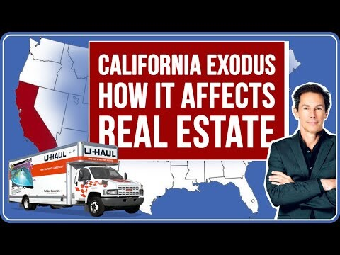 People Leaving California: How it Impacts Real Estate Investors
