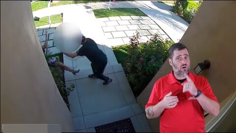 California Real Estate Agent Trips Woman's Creep Alarm