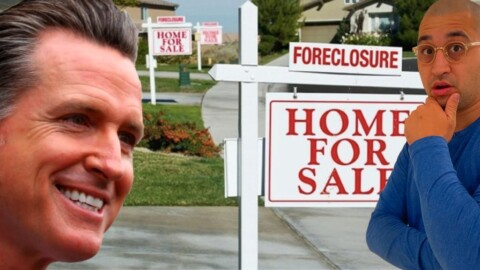 State of California to OWN ALL Future Real Estate Foreclosures!