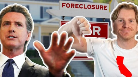 Gavin Newsom's Sneaky Plan To Buy All California Real Estate Foreclosures