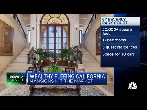 How the wealthy leaving California could affect real estate market